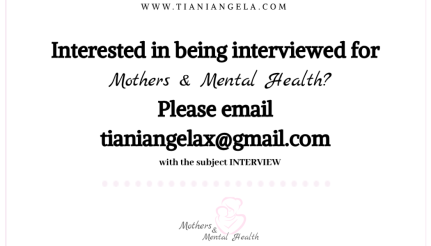 Interested in being interviewed for Please email tianiangelaxgmail.com