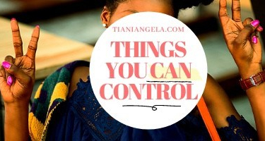 Things You CanControl