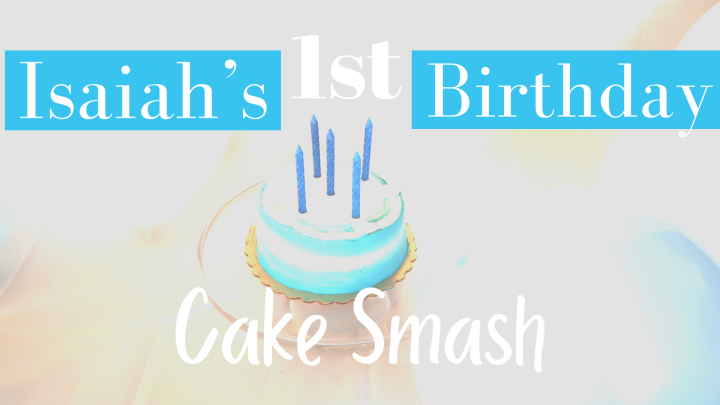 Isaiah's 1st BirthdayPhotoshoot