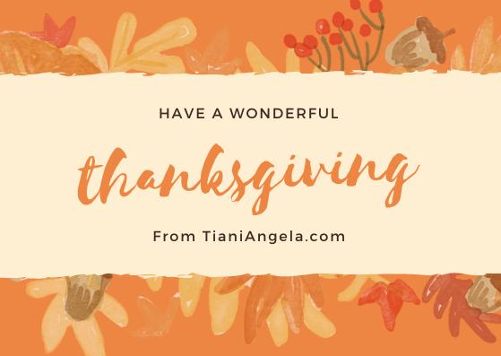 This Year I'm GratefulFor…