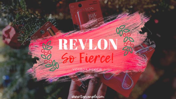 Revlon So Fierce! Review | Blogmas Day11