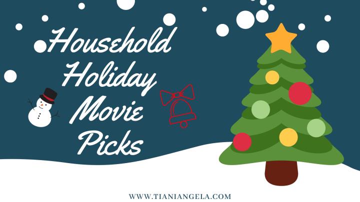 Household Movie Picks | Blogmas Day17