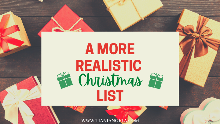 Here's What I Really Want For Christmas   Blogmas Day9