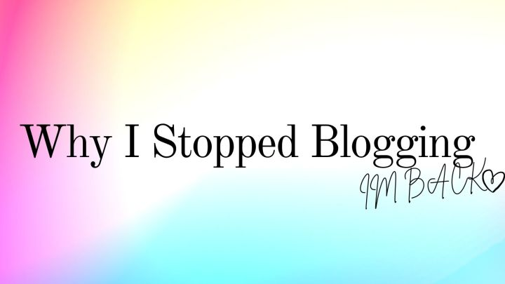 I Abandoned My Blog and Here'sWhy